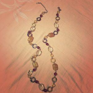 Lia Sophia long necklace
